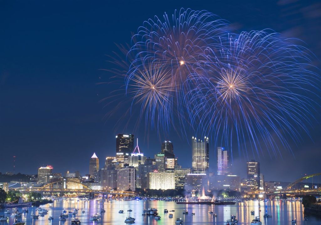 Fourth of July in Downtown - Downtown Pittsburgh