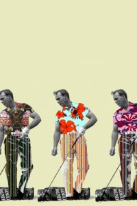 Image of Arnold Palmer for the Downtown Renown project.