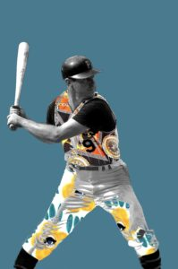 Image of Bill Mazeroski for the Downtown Renown project