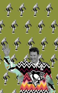 Image of Mario Lemieux for the Downtown Renown project