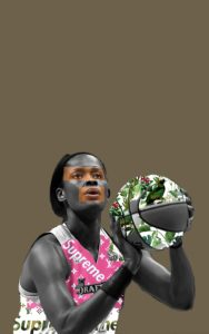Image of Swin Cash for the Downtown Renown project